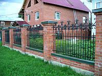 Кованый  забор арт.17
