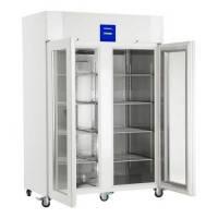 Лабораторные холодильные и морозильные шкафы LKPv / LGPv с электронной системой Profi Тип LGPv 1420 Объем 1427 л Габаритныеразмеры 1430 x 830 x 2150 м