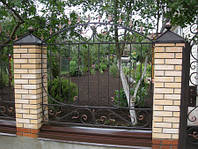 Кованый забор арт.18, фото 1