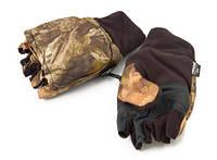 Перчатки - варежки, отстегивающиеся