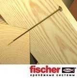 Fischer FCS-WT 10,0х120 - Шуруп конструкционный по дереву, цинк желтый, тарельчатая головка, 1 шт., фото 2