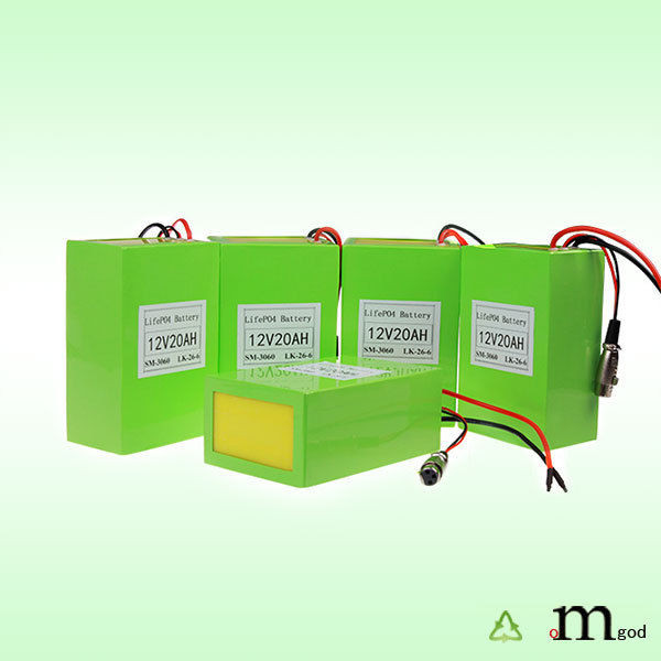 Lithium Iron Phosphate (LiFEPO4) 12V 20Ah battery pack for 350W, фото 1