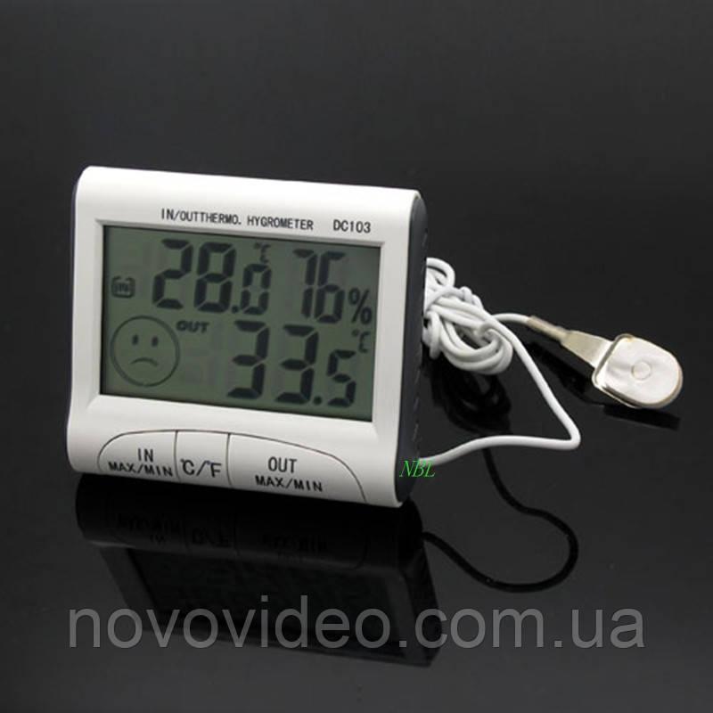 Измеритель влажности воздуха DC 103 с двумя термометрами