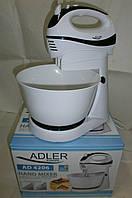 Новый европейский миксер с чашей Adler AD4206 с гарантией