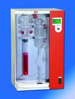 Паровые дистилляторы D1 и D2 Тип D2 Описание Паровой дистиллятор для определения летучих кислот путём отгонки в мерную колбу