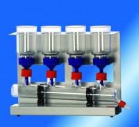 Коллекторные фильтры, боросиликатное стекло Тип FU 4 Описание Фильтрационное устройство, 4 места