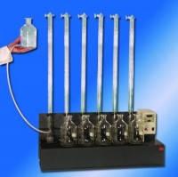 Оборудование для определения анаэробного сбраживания Тип RM 6 Описание Многоместная магнитная мешалка для использования в водяной бане на 6 бутылей по