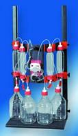 Колоночные устройства behrotest® для вымывания веществ из почв Описание Стеклянная колонка размером 60 х 320 мм