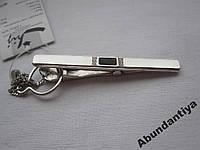 Серебряные зажим для галстука (7801)