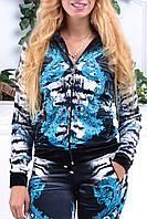 Велюровый женский спортивный турецкий костюм EZE купить разм 42,44,46,48,50, фото 1