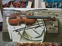 "Картина ""Натюрморт со скрипкой"""