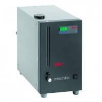 Оборотные охладители Minichiller® Тип Minichiller® w-NR Диапазонтемператур -20 ... 40 °C Скоростьи давлениенасоса 20 / 0,2 л/мин / бар Холодопроиз-вод