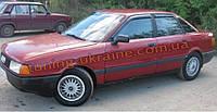 Дефлекторы окон (ветровики) COBRA-Tuning на AUDI 80 B4 1991-1996