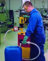 Насосы для бочек с питанием от сети Тип Насос для щелочи Материал полипропилен Глубинапогружения 1000 мм Произво-дительность 85 л/мин Высотаподачи 19,
