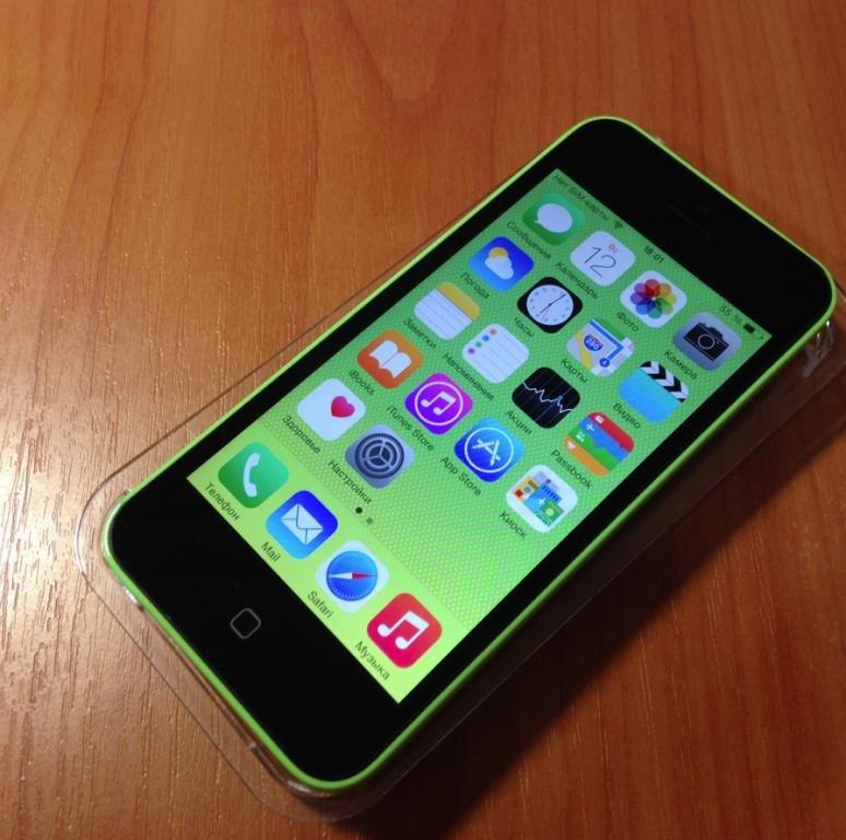 Iphone 5C 16GB neverlock (Green)