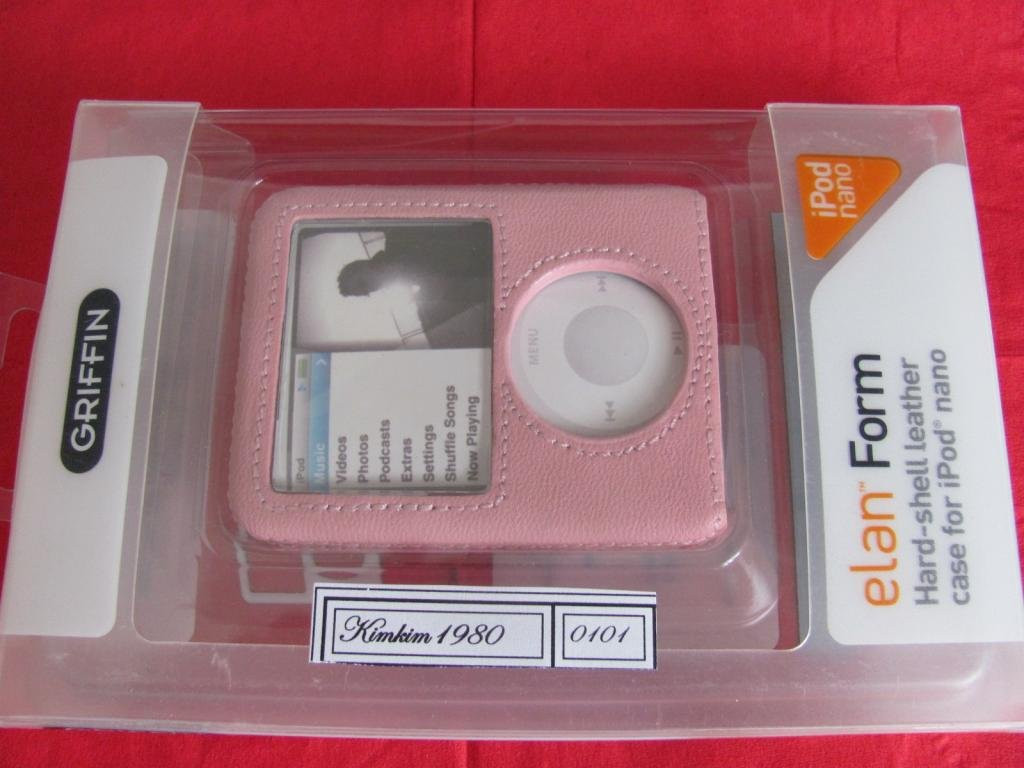 Кожаный чехол для IPOD Nano 3Gen(Griffin)