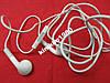 Наушники для iPod shuffle 100% оригинал (б/у)