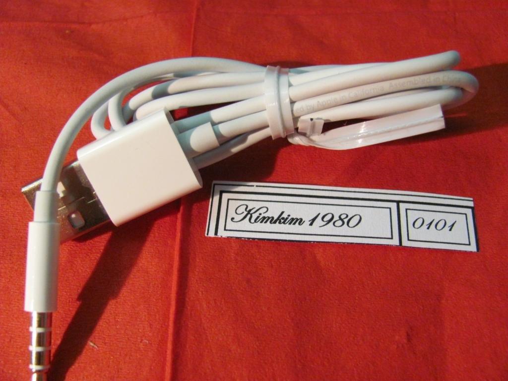 Кабель USB  ipod shuffle 3G,4G,5G (оригинал)100%