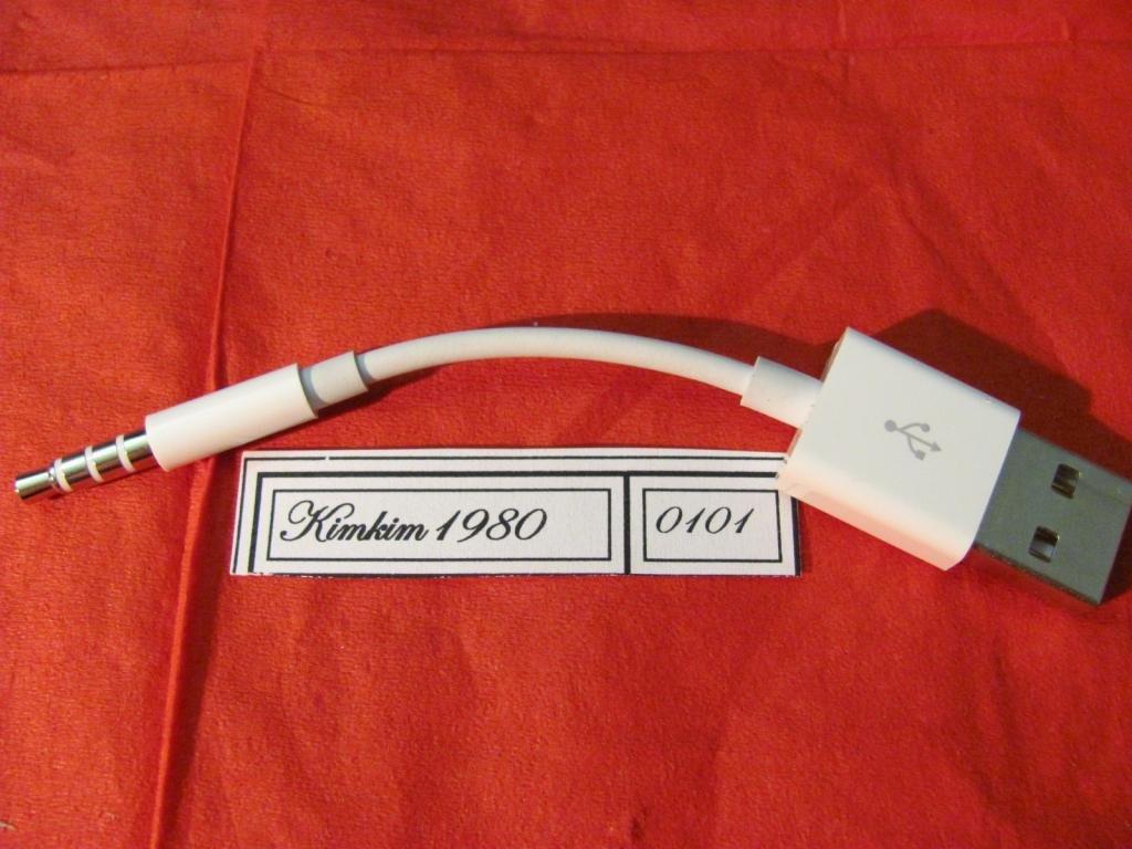 Кабель USB для ipod shuffle (оригинал)100%
