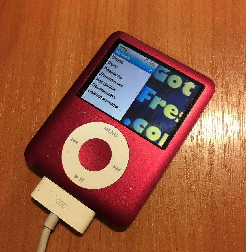 IPod nano 3Gen 8GB RED (оригинал)#12
