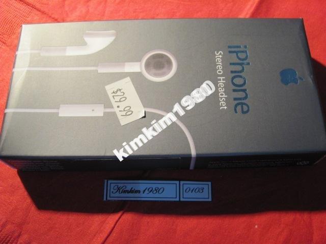 Наушники для iPhone 2G/3G 100% original