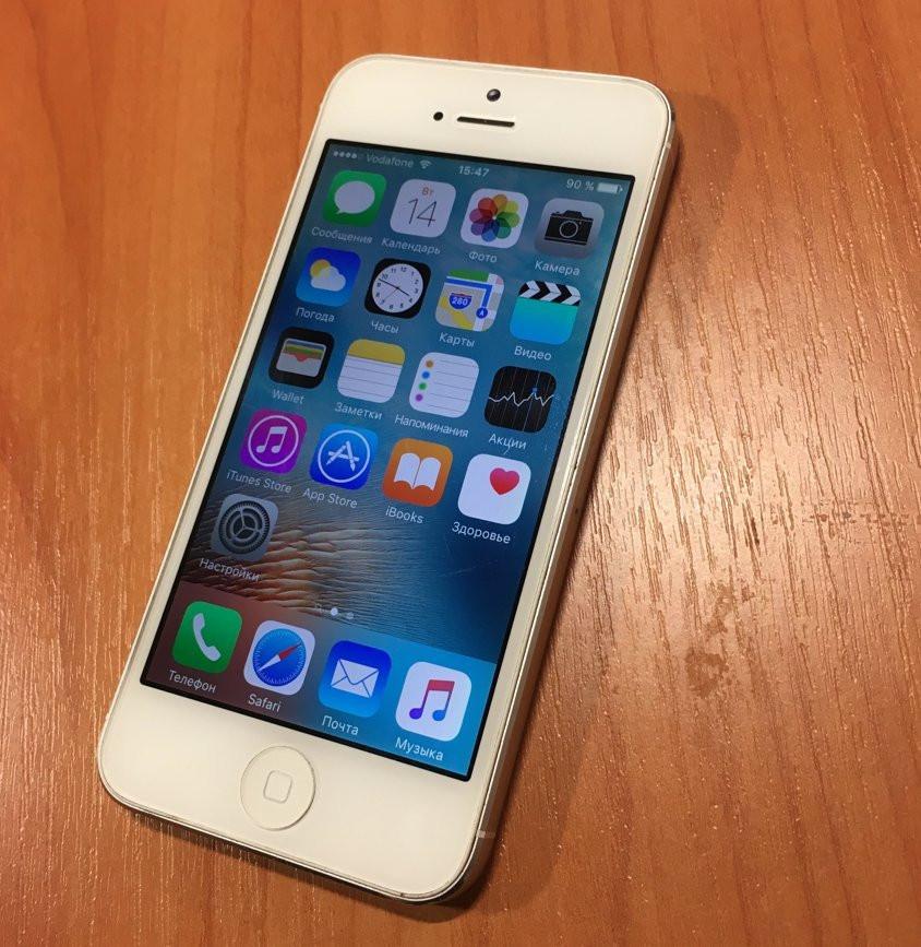 Iphone 5 16GB GSM neverlock (белый)