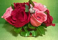 """Композиция букет цветы из конфет """"Праздничный день"""""""