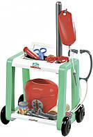 Медицинская помощь с тележкой и принадлежностями, 16 аксессуаров Ecoiffier (001906)