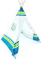 Детская игровая палатка Вигвам (синяя) Hape E4308 (E4308)