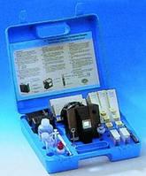 Комплекты для анализа воды Lovibond® Тип AF 357 Описание Питьевая вода Для ХлоридыХлорФторидыОбщая жёсткостьрН Диапазонизмерений 0 ... 5000 мг/л Cl-0,