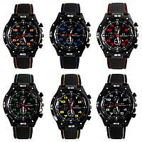 [ Часы наручные Street Racer GT Grand Touring ] Кварцевые мужские спортивные водонепроницаемые часы