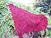 Бактус Платок Мини-шаль Теплая осень Шаль вязанная крючком Ручная работа