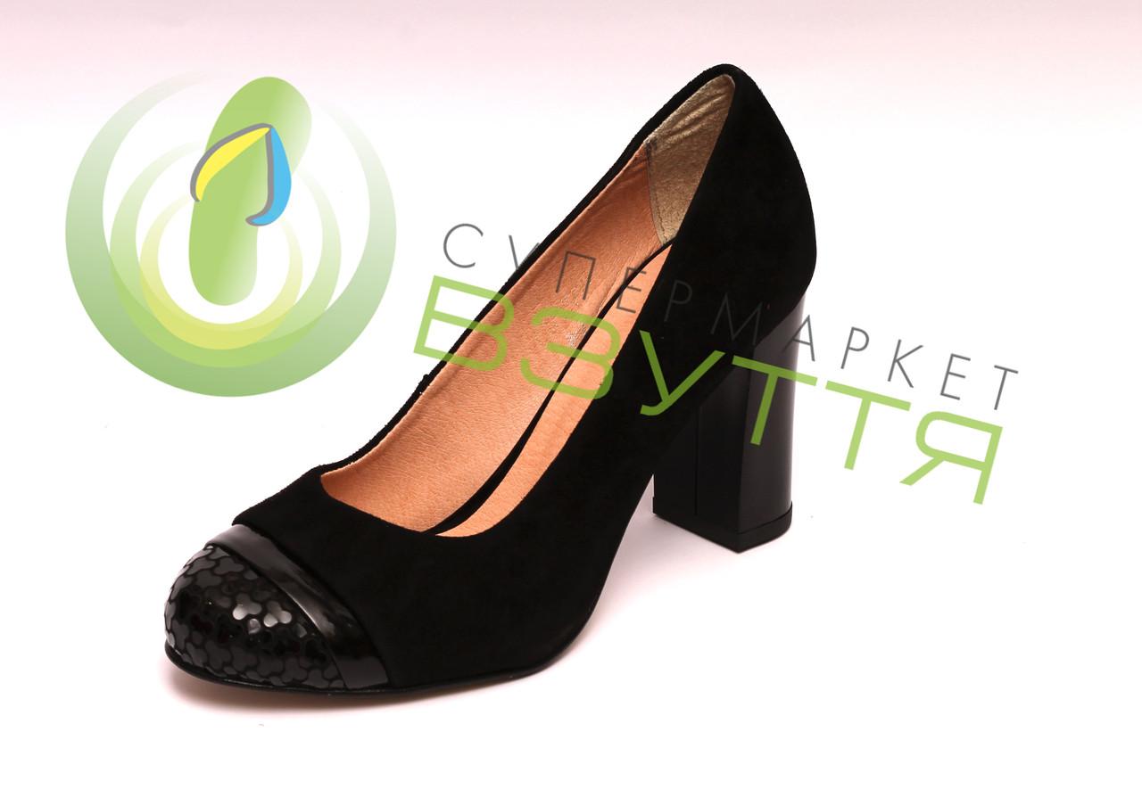 Женские туфли 88 чер/в 38,39 размер