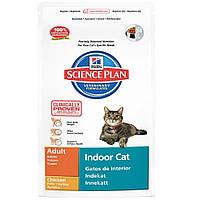 Корм SP Feline Adult Indoor Cat для котов живущих в помещении с курицей, Hill's 1,5 кг