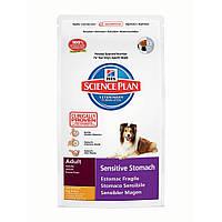 Корм SP Canine Sensitive Stomach с чувствительным пищеварением с курицей, Hill's  1,0 кг