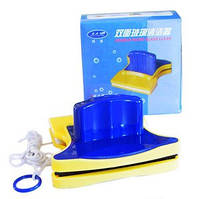 Щетка магнитная для двухстороннего мытья окон Cleaning Double Side Glass Cleaner