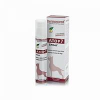Эмульсия успокаивающая для кожи кошек и собак Atop 7 Spray, Dermoscent 75 мл