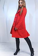 Яркое пальто женское кашемир X-Woyz