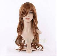 Парик длинные волосы русый наличие качество