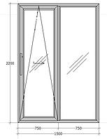Система GU-968/150 mZ (дверная для алюминия). Масса створки до 150 кг