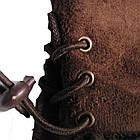 Перчатки женские Рукавицы Мех кролика Коричневые, фото 3