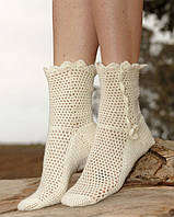 Женские теплые носки: с чем сочетать?