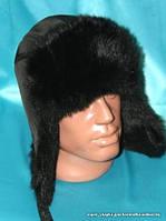 Стильная зимняя мужская шапка ушанка