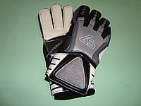 Перчатки вратарские LIGA SPORT G-32 бело-черные