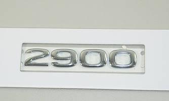 """Напис """"2900"""" (передня, двері) на Opel Vivaro 2001-> - Opel (оригінал) - 91167948"""