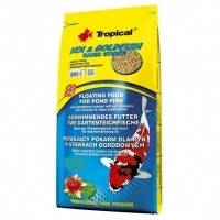 Tropical KOI & GoldFish Basic Sticks палочки для кормления карпов кои и золотых рыбок, 10л