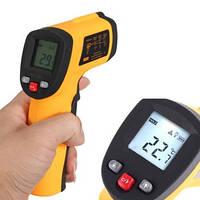 Лазерный бесконтактный термометр пирометр -50-380