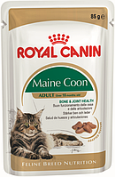 Royal Canin Maine Coon Adult (в соусе) Влажный корм для кошек породы мейн-кун в возрасте старше 15 месяцев