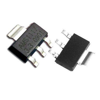 Стабілізатор AMS1117-3.3 SOT223