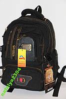 Рюкзак брезентовый Gold Be (черный цвет)